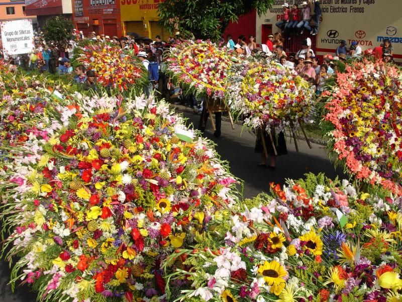 Blumenparade